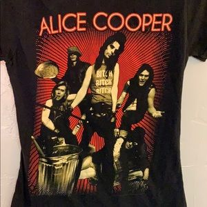 Alice Cooper band shirt